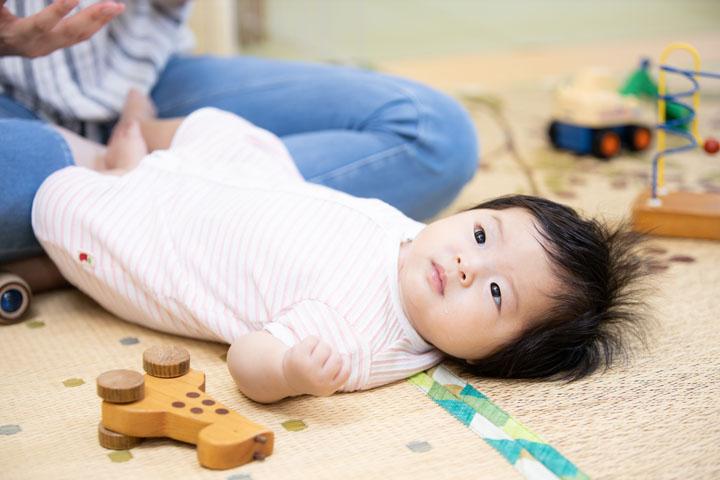赤ちゃんの写真です。